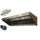Okap Gastronomiczny S 250x70x40 Filtry Turbina