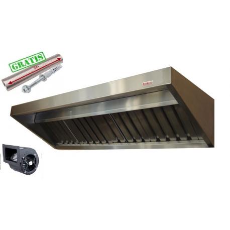 Okap Gastronomiczny S 100x70x40 Filtry TurbinaXL