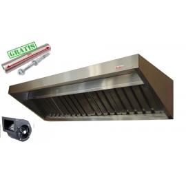 Okap Gastronomiczny S 125x70x40 Filtry TurbinaMEGA