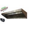Okap Gastronomiczny S 200x70x40 Filtry TurbinaMEGA