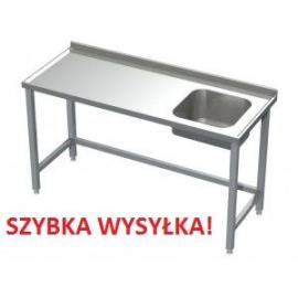 Stół Gastronomiczny 100x60x85 Zlew Spawany