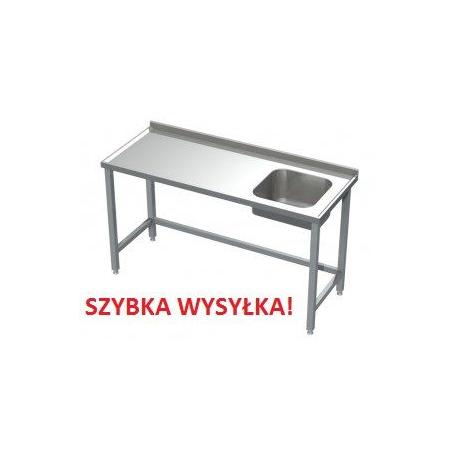 Stół Gastronomiczny 125x50x85 Zlew Spawany
