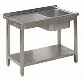 Stół Gastronomiczny 300x50x85 Zlew Półka Spawany