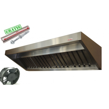 Okap Gastronomiczny S 200x70x40 Filtry Wentylator
