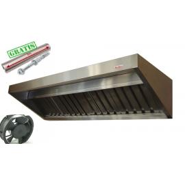 Okap Gastronomiczny S 125x70x40 Filtry WentylatorXL